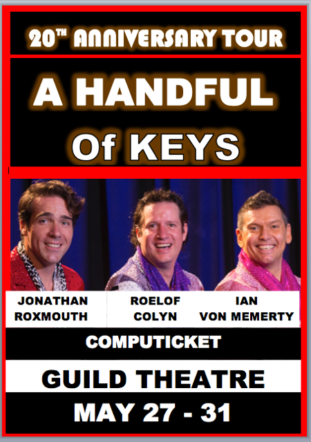 Handful Of Keys 20th Anniversary tour (27-31 May)