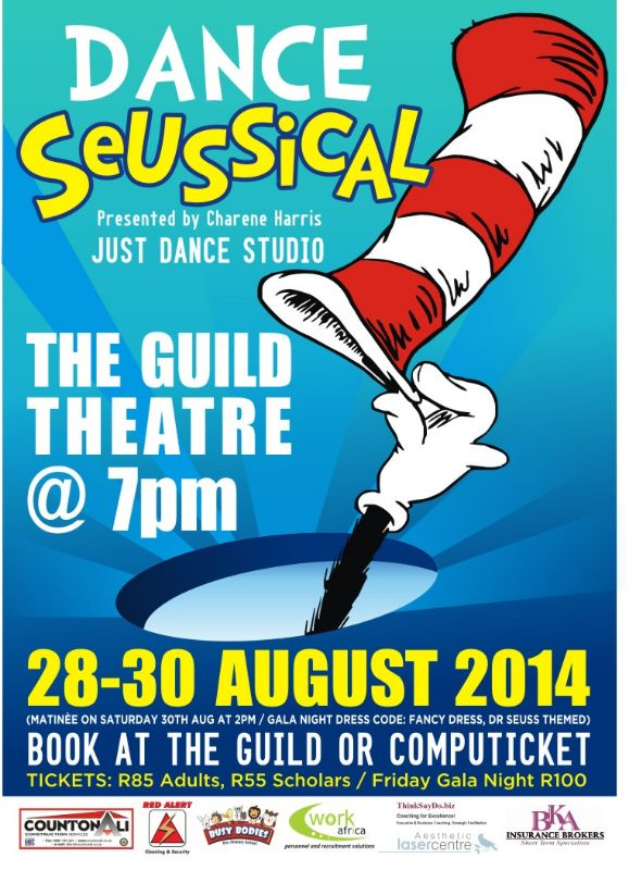 Dance Seussical (28-30 Aug)