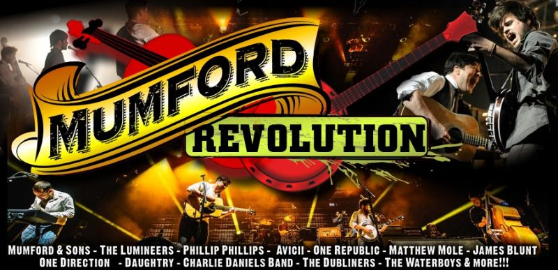 Mumford Revolution - back by popular demand (21 & 22 Aug)