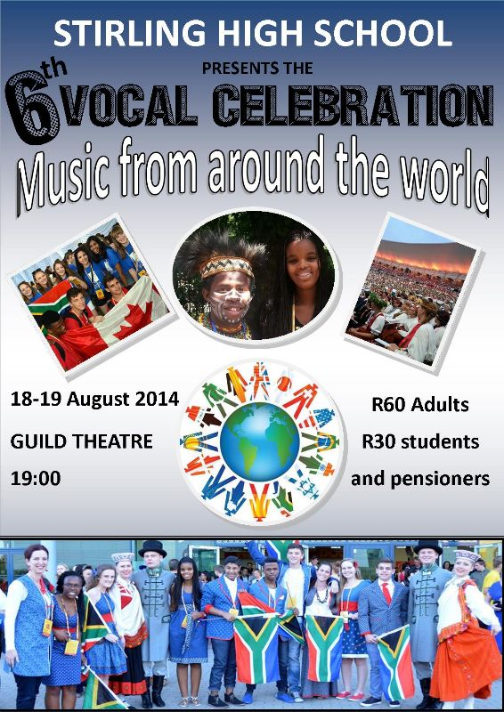Stirling High's 6th Vocal Celebration (18, 19 Aug)