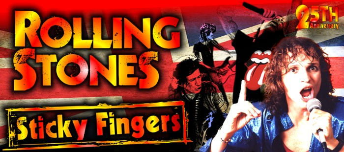 Rolling Stones Sticky Fingers Tribute (4 Mar)