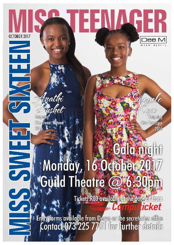MISS TEENAGER / MISS SWEET SIXTEEN (16 October 2017)