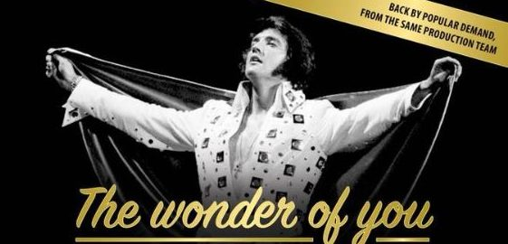 THE WONDER OF YOU - STORY OF ELVIS (16 - 18 MAY 2018)