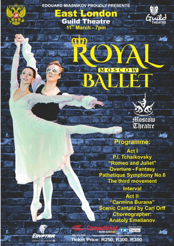 THE ROYAL MOSCOW BALLET (11 MARCH 2019)