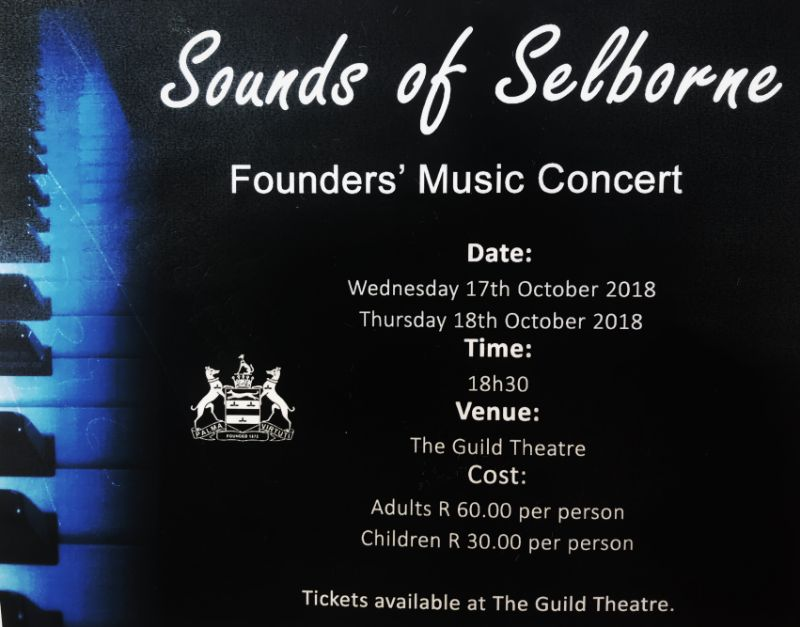SOUNDS OF SELBORNE (17 - 18 OCTOBER 2018)