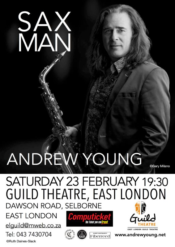 SAX MAN ANDREW YOUNG (23 FEBRUARY 2019)