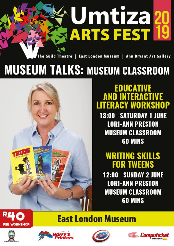 UMTIZA ARTS FESTIVAL 2019 - MUSEUM TALKS: LORI-ANN PRESTON (1 - 2 JUNE 2019)