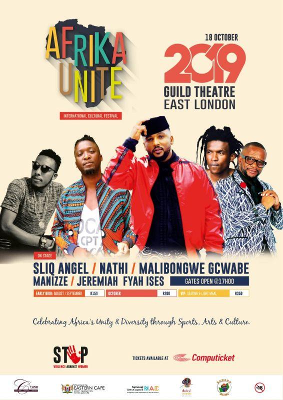 AFRIKA UNIT INTERNATIONAL CULTURAL FESTIVAL (18 - 19 OCTOBER 2019)