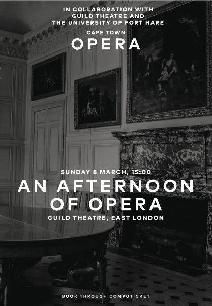 AN AFTERNOON OF OPERA ( 8 MARCH 2020)