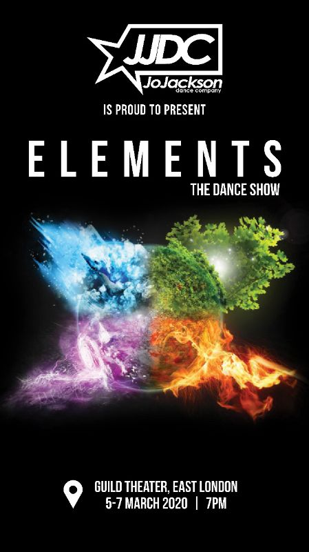 ELEMENTS THE DANCE SHOW ( 5 - 7 MARCH 2020)